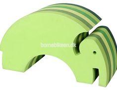 bObles elefant, multi grøn