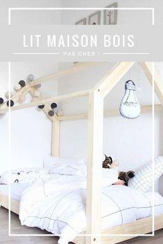 Vous recherchez un lit maison en bois pas cher mais vous n'avez pas envie de le construire ? Voici un bon plan pour vous !