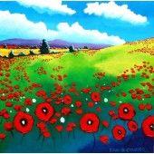 Field of poppies Poppies, Fine Art Prints, Ireland, Paintings, Paint, Art Prints, Painting Art, Poppy, Irish