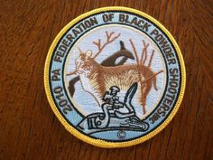 PA GAME COMMISSION7PATCH 2010 BOBCAT  PA FED. OF BLACK POWER SHOOTERS - http://sports.goshoppins.com/hunting-equipment/pa-game-commission7patch-2010-bobcat-pa-fed-of-black-power-shooters/