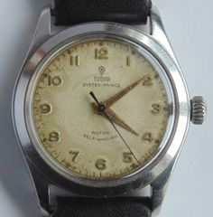 #Forsale Vintage Ca 1955 #Rolex Tudor Oyster Prince Rotor Self Winding St Steel Case Vgwo - Price @$282.25