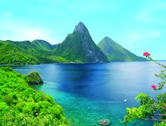 """St. Lucia! Recently seen on """"The Bachelor""""."""