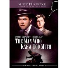 """""""The Man Who Knew Too Much"""" starring James Stewart, Doris Day (1956)"""