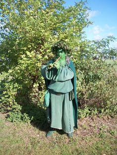 Real life green man