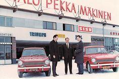 Kiinnostava osa Pirkanmaalaista autokaupan historiaa. Autoliike Pekka Mäkinen-  Suomen suurimman autoliikkeen nousu ja tuho