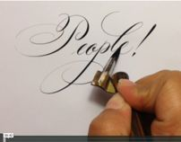 Copperplate Lettering