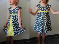 Kids Outfits Girls, Girl Outfits, Girls Dresses, Fashion Outfits, Frock Patterns, Kids Dress Patterns, Little Kid Fashion, Kids Fashion, Toddler Dress