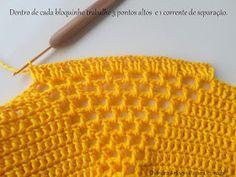 Diandra Arte em Crochê: PAP- TRILHO DE MESA RAIO DE SOL Crochet Doily Diagram, Filet Crochet, Crochet Motif, Crochet Doilies, Crochet Lace, Crochet Stitches, Crochet Bikini, Bikini Inspiration, Cover Design
