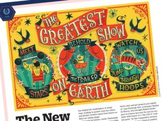 The Greatest Show on Earth - Variety by Steve Simpson