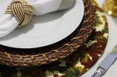 Sousplat com tecido removível DIY TECIDOS JANTAR