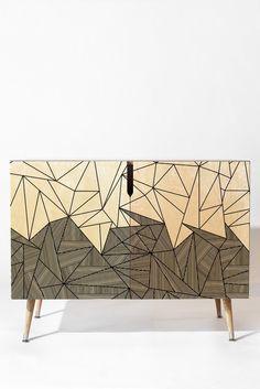 Fimbis Brandy Rays Credenza | DENY Designs Home Accessories