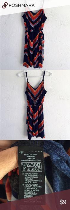 Forever 21 sundress Size small sundress from Forever 21. Tie waist with adjustable shoulder straps. Forever 21 Dresses