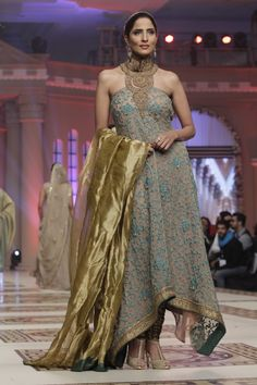 Mehdi Telenor Bridal Couture Week 2014 Collection