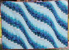 Ocean Waves quilt—inspiration for A Vast and Gracious Tide https://wp.me/p1GKzp-Uq