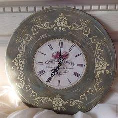 """Купить Набор для кухни """"Прованс"""" часы и салфетница - подарок, подарок на день рождения, подарок девушке"""