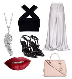 """""""cute look"""" by alexiaastyle on Polyvore featuring Etro, Motel, Valentino, Michael Kors, TheBalm and Penny Preville"""