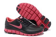 finest selection 3e58d b329e Nike Free 5.0 V4 Leather Black Pink