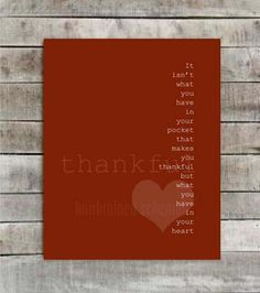 Thankful  Thanksgiving Print  Modern by hairbrainedschemes on Etsy, $15.00