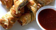 Chicken Goujons with Damson Plum Sauce Recipe.