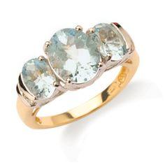 New Gerrim Aquamarine & Diamond Ring Aquamarine Rings, Aquamarine Blue, Bracelet Watch, Jewelry Watches, Wedding Rings, Engagement Rings, Bracelets, Regency, Accessories