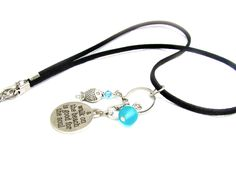 A Walk on the Beach Quote Necklace - pinned by pin4etsy.com