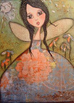 A Fairies Garden by Patti Ballard