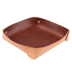 This valet tray is made with out oiled and waxed veg tanned leather and is perfect for stashing keys, wallets, and sunglasses. x x Oiled Veg Tanned Leather Copper Rivets Everyday Carry Gear, Vegetable Tanned Leather, Bradley Mountain, Tan Leather, Sunglasses Case, Tray, Brown, Edc, Wallets