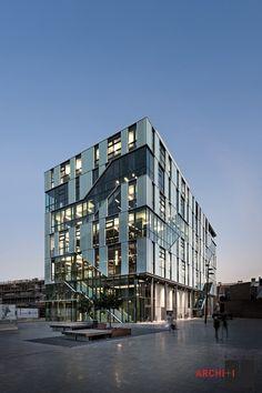 ARhus Knowledge Center, in Roeselare, Belgium by BURO II  ARCHI+I