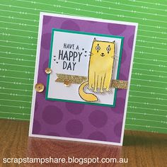 Scrap Stamp Share: August Stamp of the Month Australasian Blog Hop