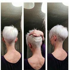 pixie haircut with undercut back - Поиск в Google