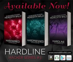 Meredith Wild Hacker Series I am loving this series so far. If your looking for another book like 50 shades or Crossfire series is definitely recommend this series Best Book Covers, Beautiful Book Covers, Meredith Wild, Books To Read, My Books, Book Signing, Romance Novels, Book Recommendations, Great Books