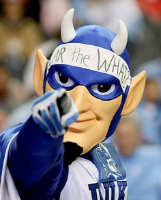 Ahhhh, you mad? You hatin' on Duke? I don't think they care, they're celebrating being National Champions! 2015