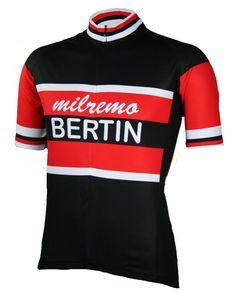 Milremo Bertin #Molteni cycling jersey