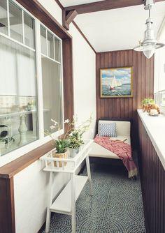Идеи для создания уютного балкона - Home and Garden