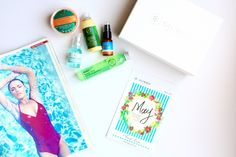Glowbox and Fresh Line, a Greek beauty subscription box and fresh organic cosmetics from Greece