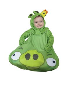 Get exciting with Rovio Angry Birds King Pig Bunting Infant Costume. Latest Range of Pig Costumes for Halloween at PartyBell. Angry Birds Costumes, Spirit Halloween Costumes, Halloween Bebes, Pig Costumes, Bird Costume, Star Wars Costumes, Toddler Costumes, Adult Costumes, Infant Halloween