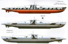 U-Boot U-123 Typ IXB & U-154