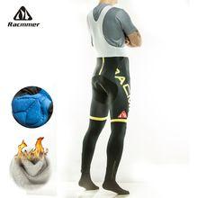 US $19.50 Racmmer Warm 2017 Winter Thermal Fleece Cycling Long Bicycle Bib Pants 3D Gel Pad Bike Bib Tights Mtb Men Ropa Ciclismo #CK-02. Aliexpress product