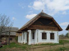Zölddiófa Csárda az Élménybirtok régi falusi házakkal teli utcájában