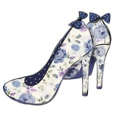Gabi Murphy -  blue shoes