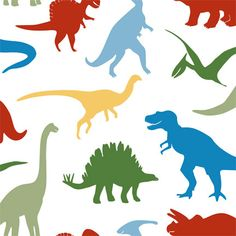 Larger dinosaurs are about 8