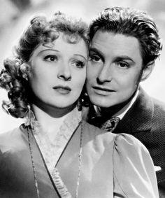 "Robert Donat y Greer Garson en ""Adiós Mr. Chips"" (Goodbye Mr. Chips), 1939"