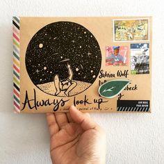 Letter Art, Letter Writing, Tarjetas Diy, Mail Art Envelopes, Diy Envelope, Doodle, Tampons, Snail Mail, Cool Cards