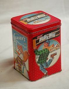 vintage tin set box Aap Noot Mies metal container Leesplankje set of 4 Typical Dutch tins Vintage kitchen storage Holland canister