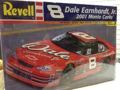 Revell Dale E. Jr. EARNHARDT Jr  #8 Monte Carlo NASCAR 1/24th Model  2001 Sealed #RevellMonogram