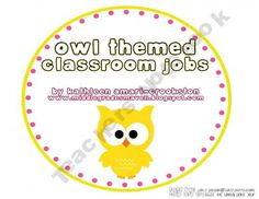 FREE! For the owl lovers! Middle-Grades-Maven Shop - | Teachers Notebook