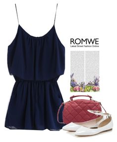 """""""Romwe Romper"""" by tawnee-tnt ❤ liked on Polyvore"""