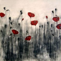 red poppies. <3 red poppies