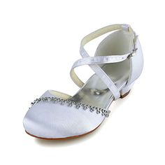 White Round Toe Antique Design Silk And Satin Evening Flats for Woman & Shoes > Women\'s Shoes > Occasion Shoes > Wedding Shoes > Flower Girl Shoes Cheap Girls Shoes, Girls Shoes Online, Girls Dress Shoes, Low Heel Shoes, Low Heels, Bridal Shoes, Wedding Shoes, First Communion Shoes, Communion Dresses