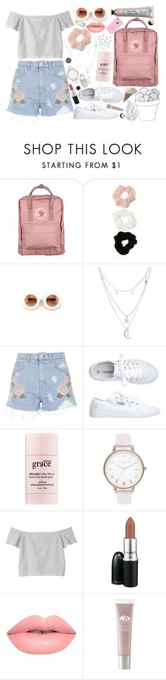 """._."" by euphoric-bliss ❤ liked on Polyvore featuring Fjällräven, Forever 21, Wildfox, Charlotte Russe, Topshop, Toast, philosophy, Monki, MAC Cosmetics and Origins"